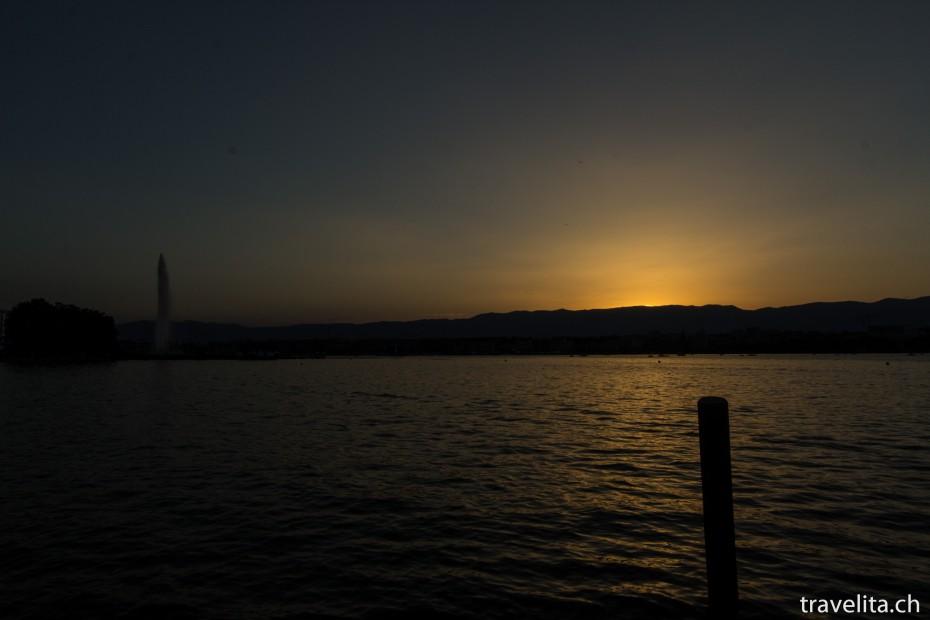Genf_Sonnenuntergang
