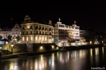 Grandhotel Les Trois Rois - Tradition inmitten von Basel