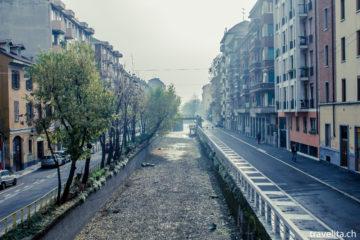 Reiseschnappschuss - Mailand's Naviglio Grande