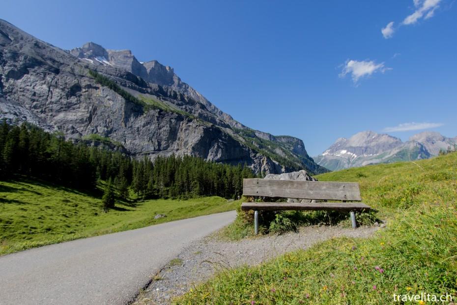 Wanderung vom Oeschinensee nach Kandersteg