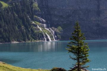 Wanderung am Oeschinensee - ein Traum in blau