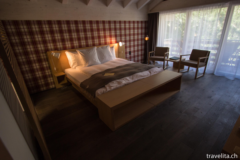 Bett Aus Holzbalken mit tolle stil für ihr haus design ideen