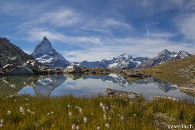 Riffelsee und das Matterhorn