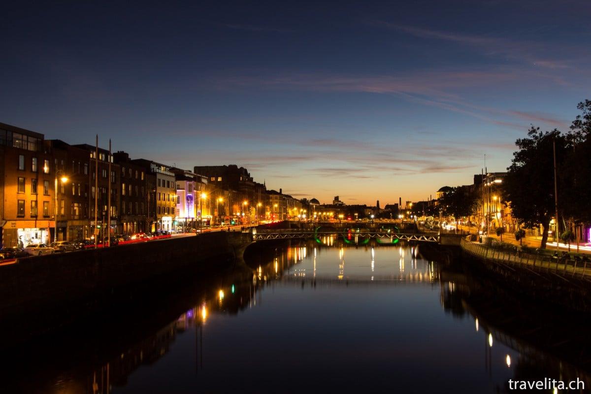 Reiseschnappschuss – Dublin by night