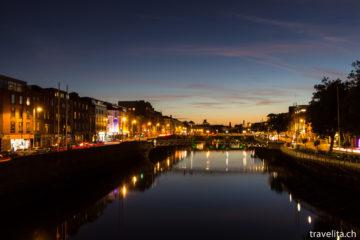 Reiseschnappschuss - Dublin by night