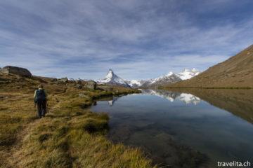 Wandern in Zermatt - Drei Seen und das Matterhorn