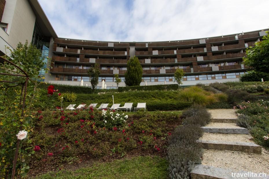 Falkensteiner Balance Resort Stegersbach von Vorne