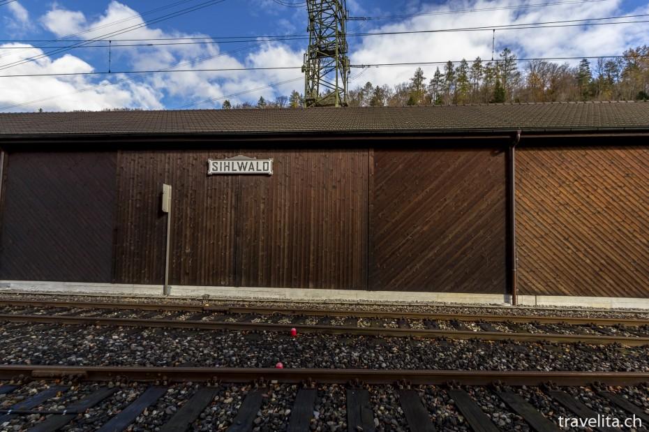 Bahnhof-Sihlwald