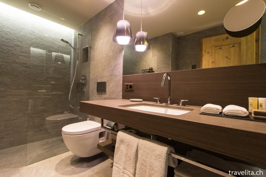 Badezimmer Alpenchic Zimmer