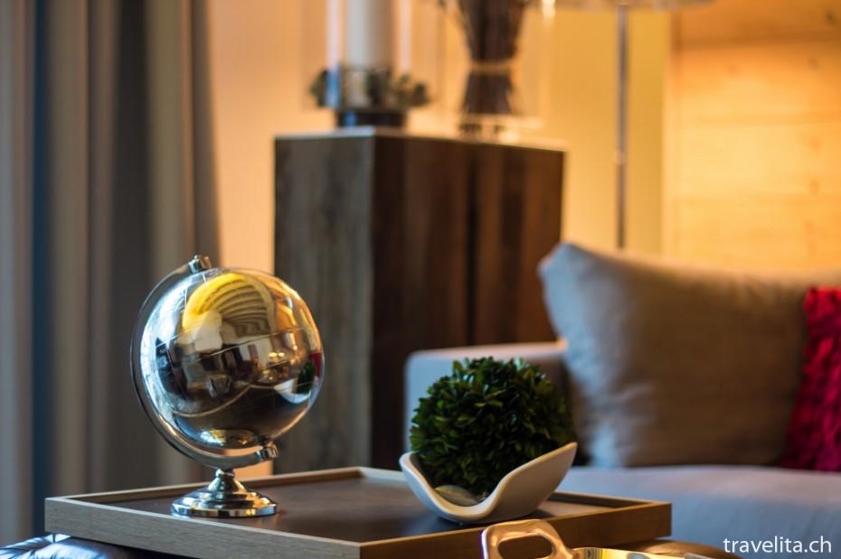 Globus in der Suite