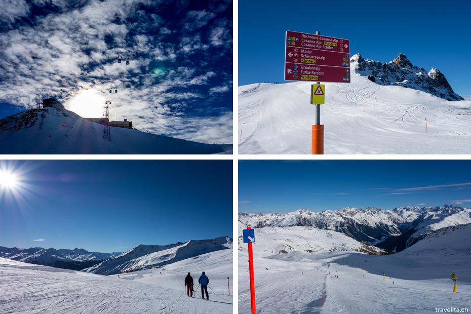 Klosters-Skigebiet-Parsenn