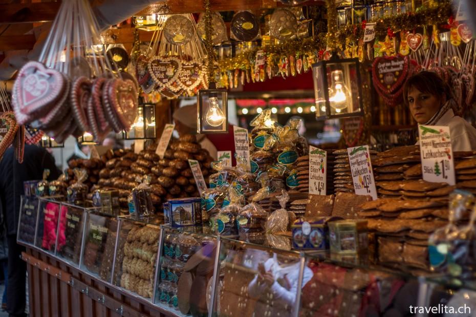 Lebkuchen am Christkindlesmarkt in Nürnberg