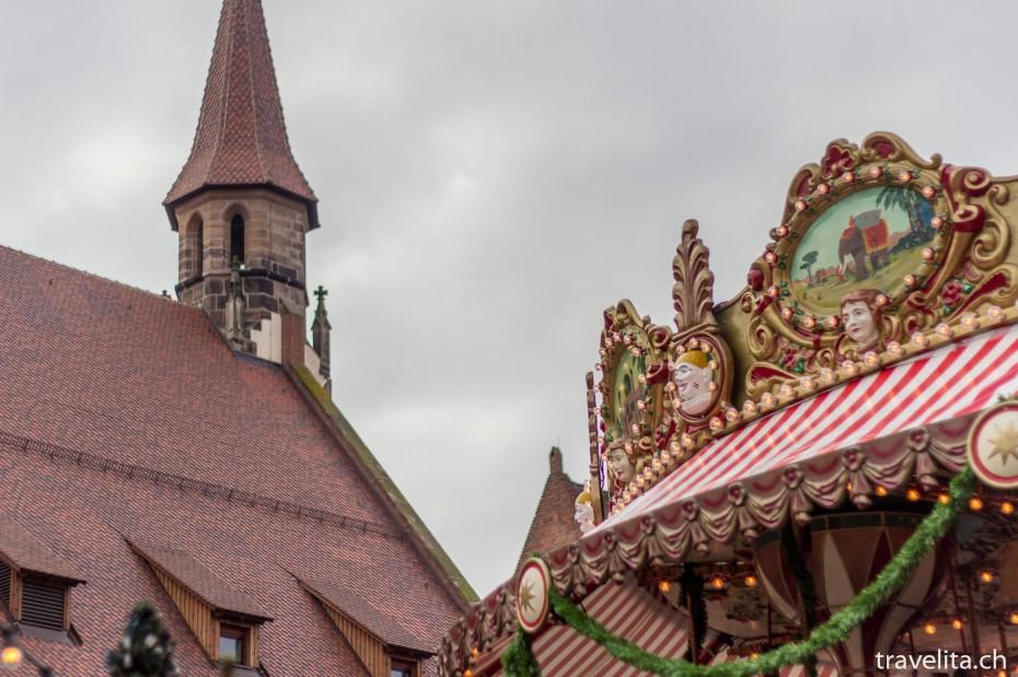 Christkindlesmarkt in Nürnberg Kinder