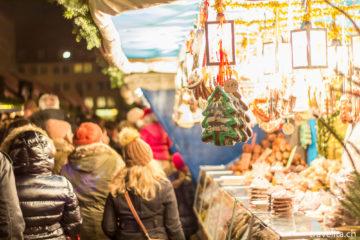 Bunte Impressionen vom Nürnberger Christkindlesmarkt