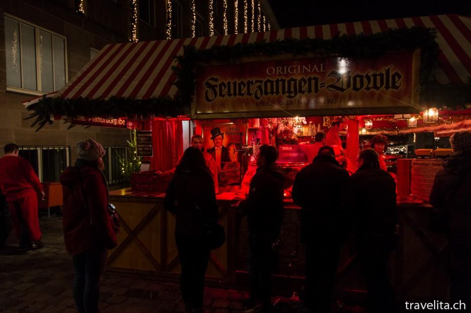 Glühwein am Nürnberger Christkindlesmarkt