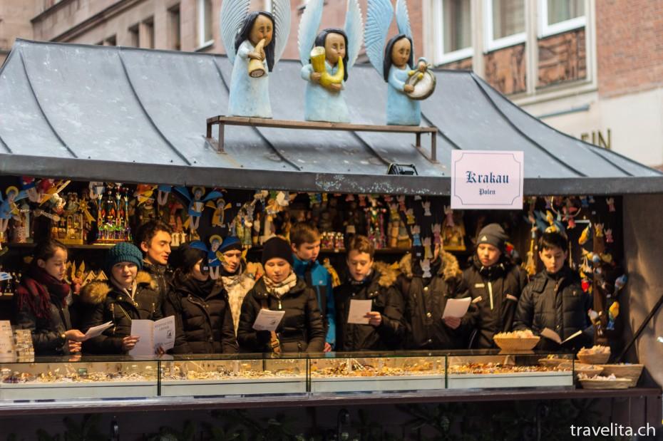 Christkindlesmarkt in Nürnberg Partnerstädte