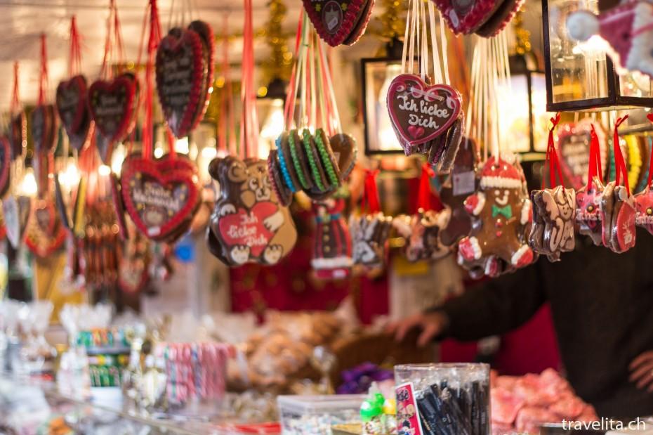 Christkindlesmarkt in Nürnberg Lebkuchen