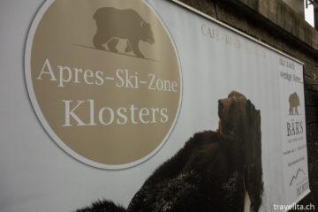 Der Bär ist los im Hotel Piz Buin Klosters