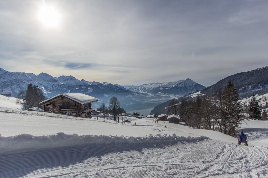 Schlittelpiste Berner Oberland