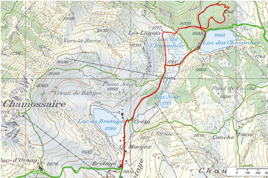 Villars-Scheeschuhtour-3Lacs