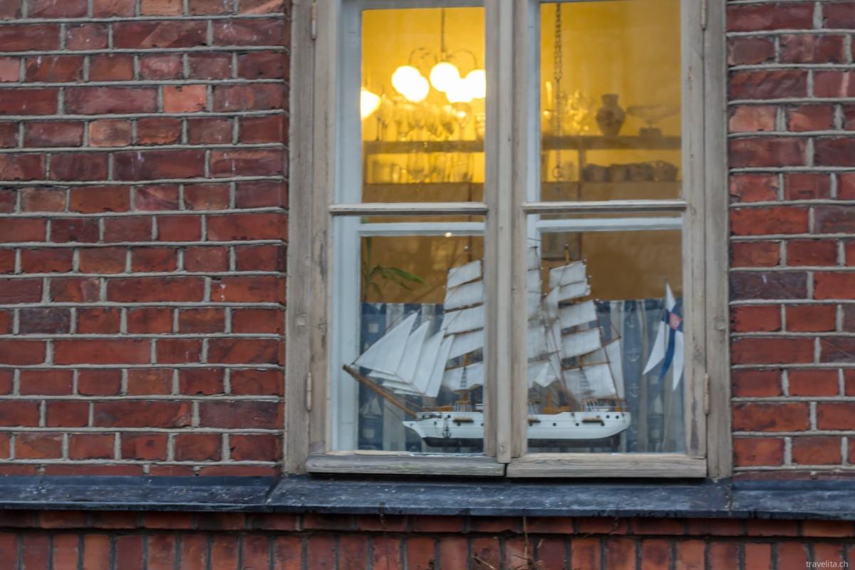 Suomenlinna – für einmal Wind und Wetter getrotzt