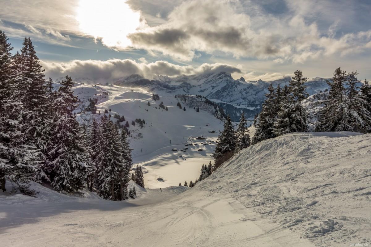 Winterzauber in Villars-Gryon