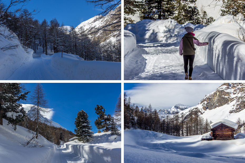 Zermatt-Winterwandern