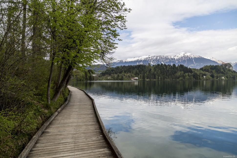 Spazierweg rund um den Bleder See