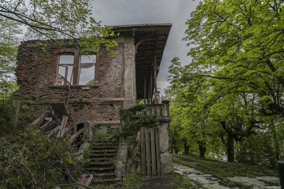 Verlassenes Haus in Slowenien