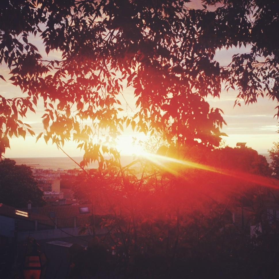 Trieste-Sonnenuntergang