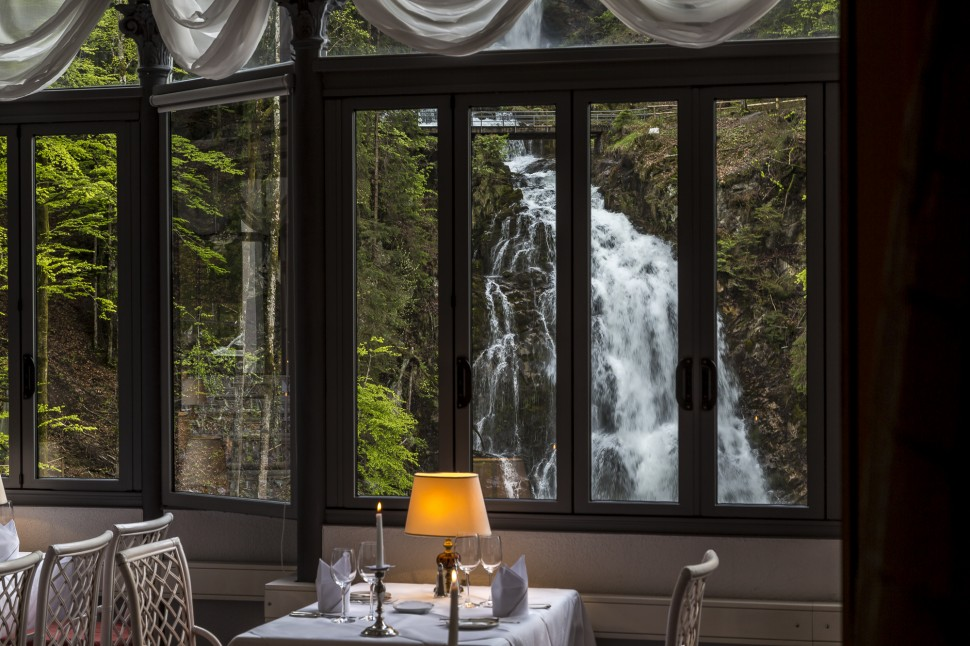 Grandhotel-Giessbach-Parkrestaurant Les Cascades