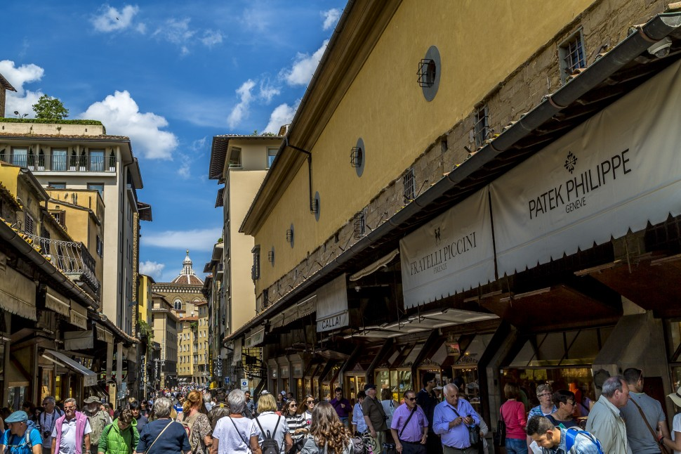 Ponte Vecchio-Florenz