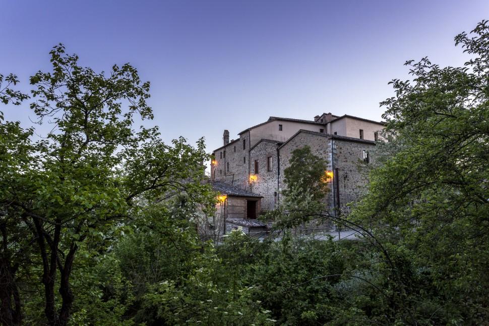 Castel-Monastero-Abend