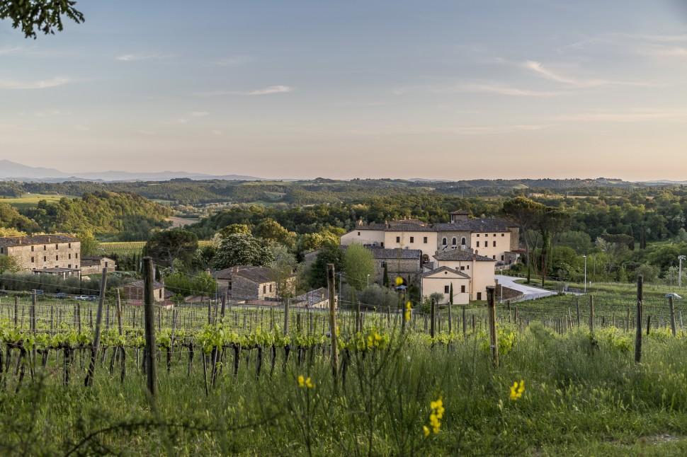 Castel-Monastero-Aussicht