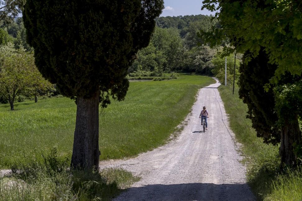 Toskana-Radfahren