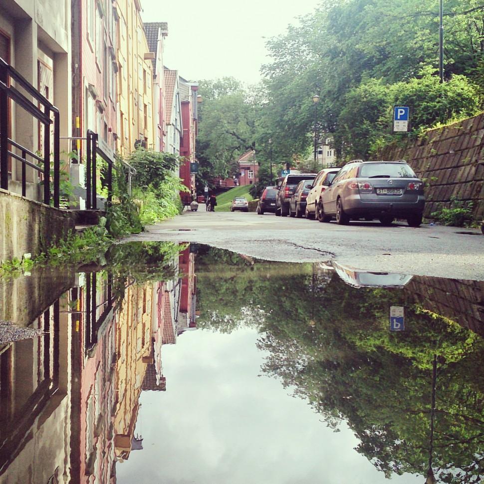 Trondheim-Reflection