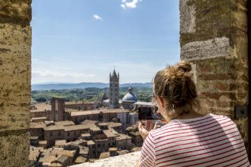 Siena von oben - Sehenswürdigkeiten und Reisetipps