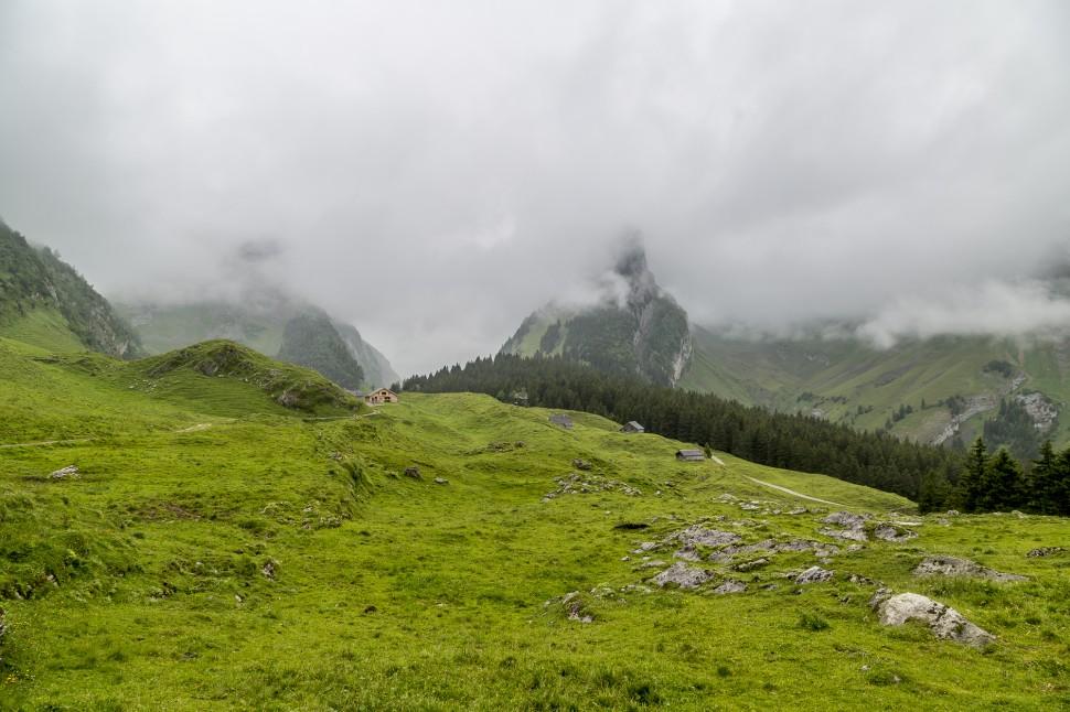 Appenzellerland-Alpstein-Nebel