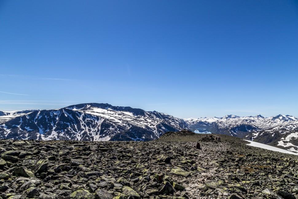 Jotunheimen Besseggen Ridge Wanderung