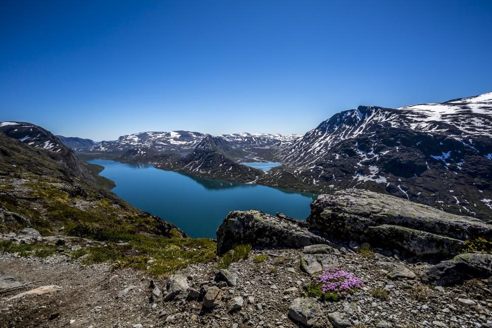 Jotunheimen Besseggen Ridge Aussicht