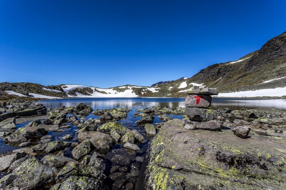 Jotunheimen Besseggen Ridge Wandern