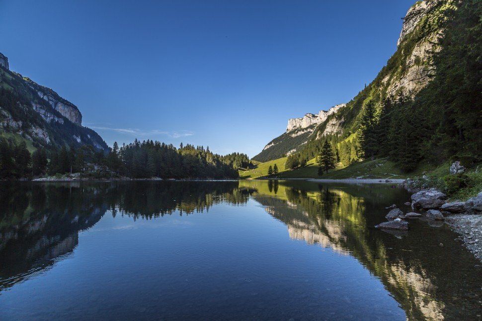 Appenzell Seealpsee Abend-1