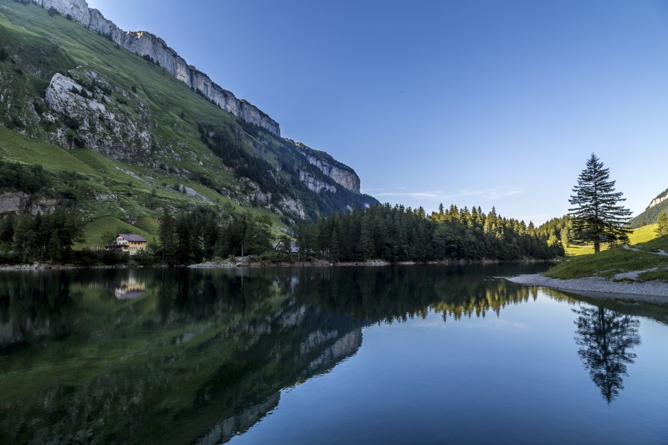 Appenzell Seealpsee Abend-2