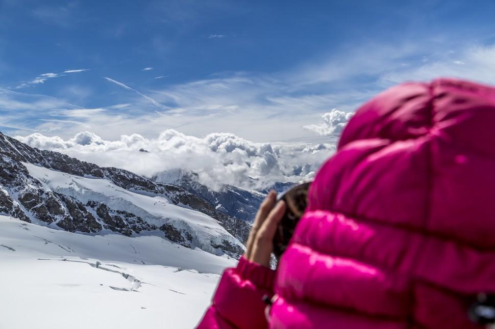Aussicht-Jungfraujoch