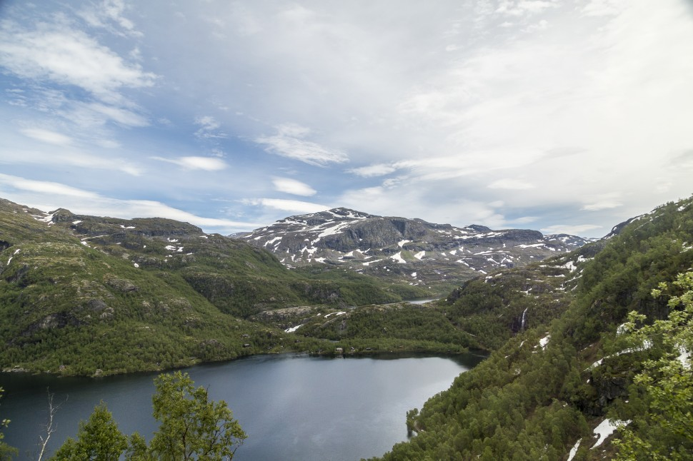 Bergenbahn-Reinungavatnet