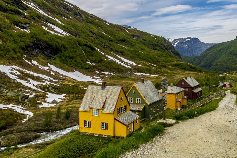 Flamsbahn-Flamdalen--Myrdal