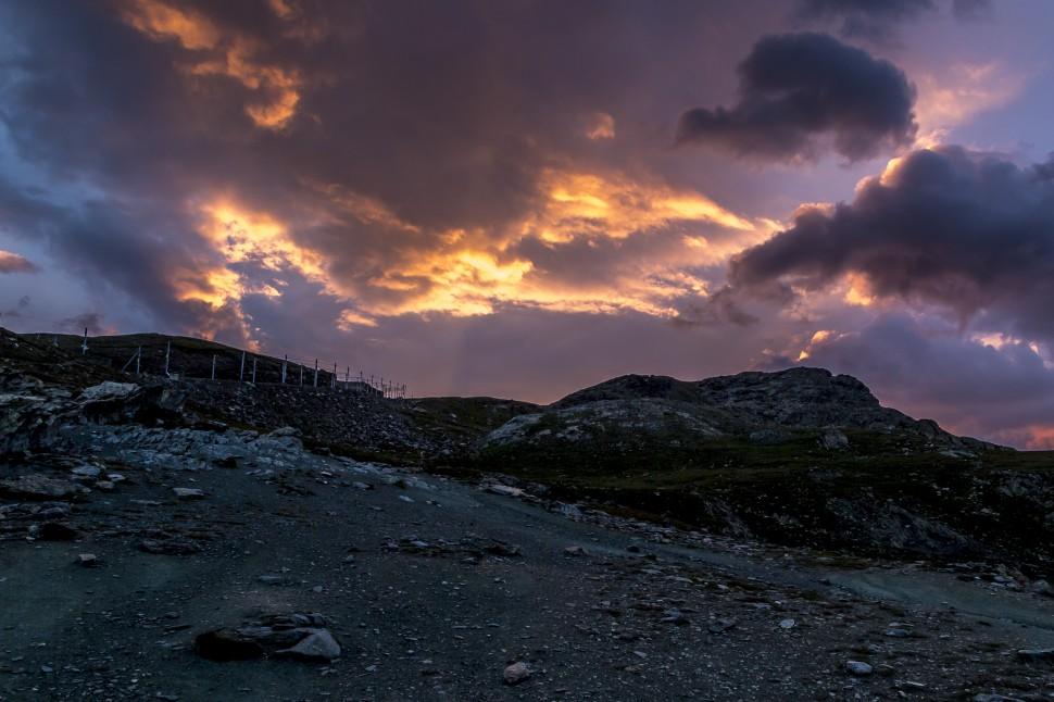 Gornergrat-Sonnenaufgang