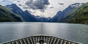 Hurtigruten Ahoi! Bergen - Trondheim per Schiff