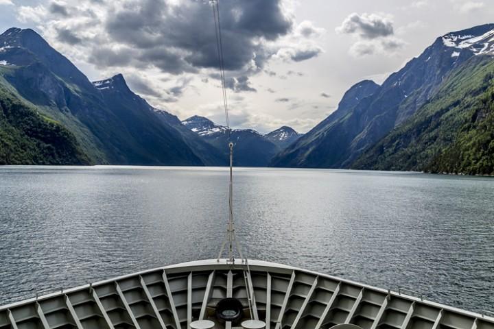 Hurtigruten Ahoi! Bergen – Trondheim per Schiff