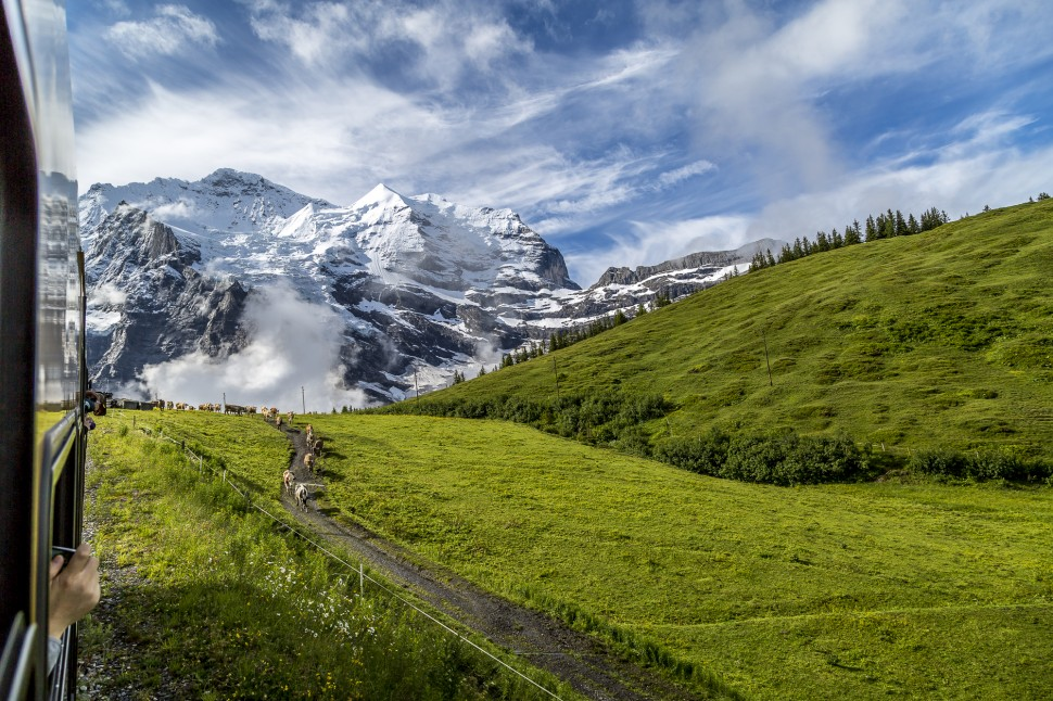 Jungfraubahn-Sommer